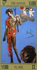 画像7: サルバドール・ダリ タロットカード  スペイン・イタリア・ポルトガル語版 (7)
