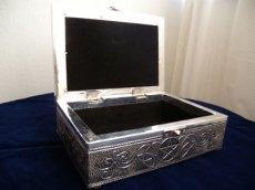 画像4: シルバー調 タロットボックス 古代ケルトペンタクル (4)