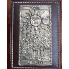 画像4: タロットボックス メタルエンボス 太陽 (4)