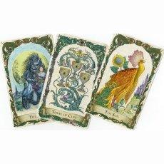 画像6: ミスティカルクリーチャーズタロット スタンダードエディション  The Mythical Creatures - gilded and water-coloured. Standard edition (6)