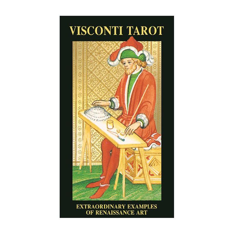 画像1: ヴィスコンティタロットカード (1)