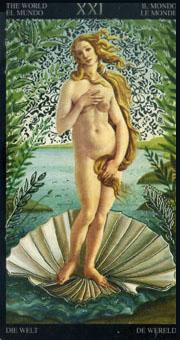 画像1: ボッティチェリ タロットカード (1)