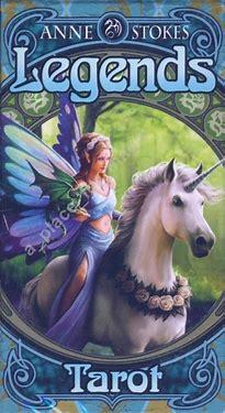 画像1: レジェンドタロット Legends Tarot Anne Stokes (1)