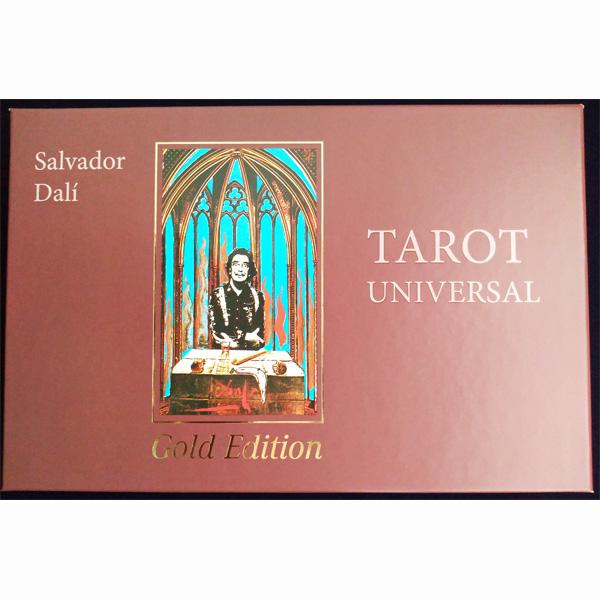 画像1: サルバドールダリ タロットカード ゴールドエディション (1)